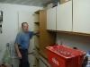 Küche wird ausgeräumt