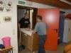Kücheneinrichtung wird abtransportiert