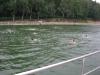 Nach dem Abbau - Erfrischung im Schwimmbad