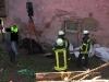 12. April 2011 – Pferderettung, Otterberg Neumühle; Während den Rettungsmaßnahmen.