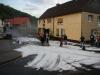 19. Mai 2012 - Beseitigung Unwetter-Folgen, Bereich Niederkirchen; Ortsmitte Niederkirchen nach Hagelschauer