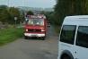 """""""Brandeinsatz"""" - Die Fahrzeuge fahren die Einsatzstelle an."""