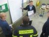 Übung am 2. Dezember 2013 in Niederkirchen; Nachbesprechung der Führungskräfte