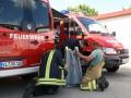 Gemeinsame Übung der Feuerwehren Otterbach und Otterberg, 9. Juli 2016, Pfalzwerke Otterbach