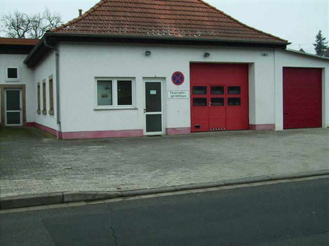 Feuerwehrhaus Heiligenmoschel, Außenansicht