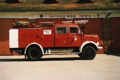 TLF 16 der Feuerwehr Otterberg. Bild: Alfred Grad