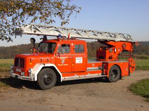 Die alte Drehleiter der Feuerwehr Otterberg