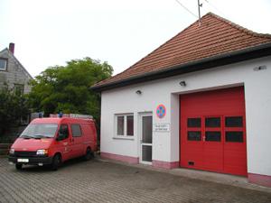 Das ehemalige TSF der Feuerwehr Heiligenmoschel