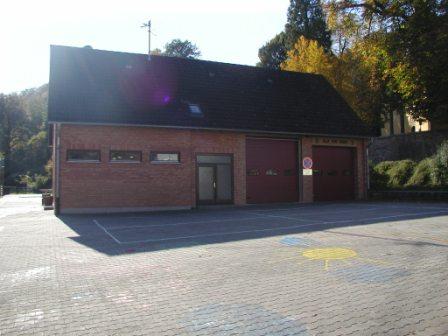 Feuerwehrhaus Niederkirchen, Außenansicht