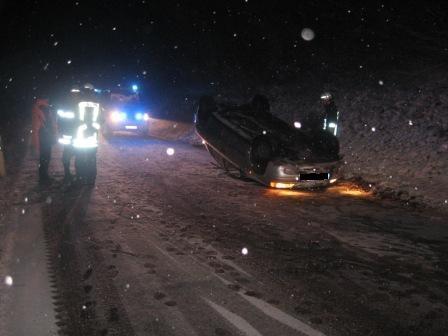 Verkehrsunfall L387 Otterberg - Höringen