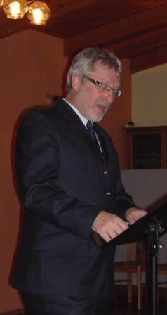Kreisfeuerwehrinspekteur Hans Weber
