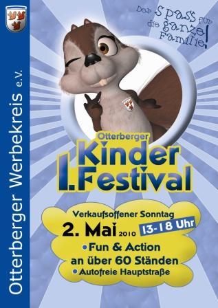 "Plakat ""1. Otterberger Kinderfestival"""