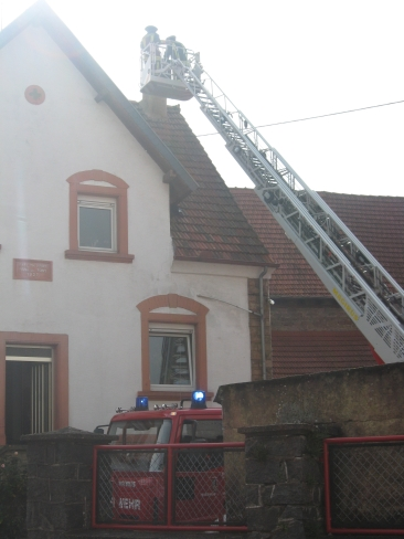 Kaminbrand in Heiligenmoschel
