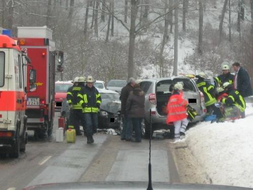 Verkehrsunfall, L382 Otterberg - Schneckenhausen
