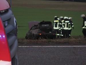 Verkehrsunfall, L382 zwischen Otterberg und Baalborn