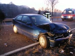 Verkehrsunfall, L382 Niederkirchen - Schallodenbach