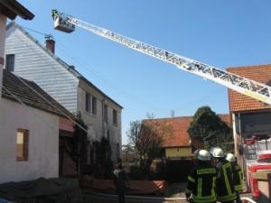 Kaminbrand, Heiligenmoschel Horterhof