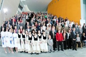 Gruppenfoto; Foto: Bundesregierung, Guido Bergmann