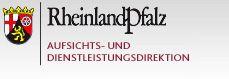 Logo der Aufsichts- und Dienstleistungsdirektion Rheinland-Pfalz (ADD RLP)