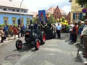 Frühlingsfestumzug 2011; Bild: Christian Scheidel
