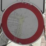 Verkehrszeichen; Verbot für Fahrzeuge aller Art