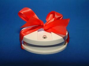 Ein schönes Geschenk für Nikolausstiefel und Gabentisch - ein Rauchwarnmelder! Quelle: DFV