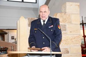 Rolf Schamberger (Leiter Deutsches Feuerwehr-Museum). Quelle: DFV