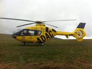 9. April 2013 - Hubschrauberlandesicherung, Niederkirchen-Morbach