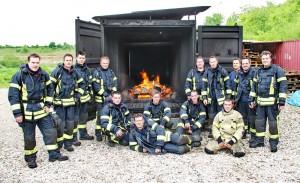 Heißausbildung für Atemschutzgeräteträger (24. Mai 2013, Worms)