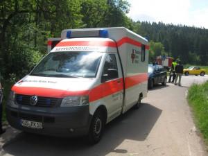 30. Mai 2013 - Verkehrsunfall, L382 Otterberg - Schneckenhausen