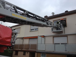 14. Mai 2013 - Amtshilfe Rettungsdienst, Otterberg Philipp-Kirchner-Straße