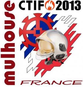 Logo der CTIF-Wettbewerbe 2013 in Mulhouse/Frankreich, Quelle: DFV