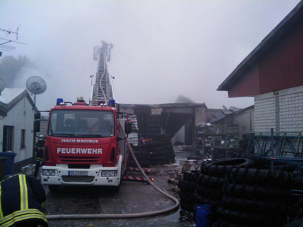 Großbrand Rodenbach 2008