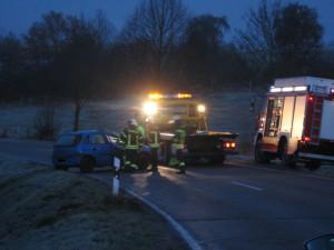 30. November 2013 - Verkehrsunfall, L382 Otterberg - Schneckenhausen