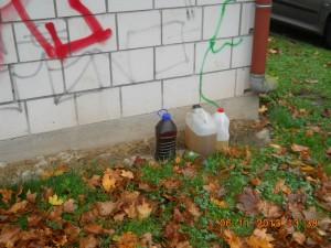 6. November 2013, Illegale Müllentsorgung, Otterberg Parkplatz Stadthalle