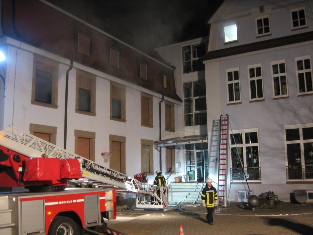 Übung in Niederkirchen am 2. Dezemeber 2013