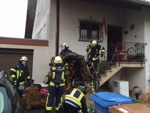 14. Dezember 2013 - Wohnungsbrand, Otterberg Am Sixmeisterwoog