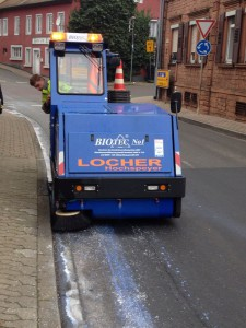 3. Februar 2014 - Latex-Spur, Otterberg Berg-, Haupt- und Johannisstraße