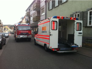 2. April 2014 - Amtshilfe Rettungsdienst, Otterberg Hauptstraße