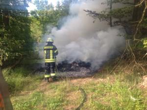 5. Juni 2014 - Brand Bauschutt, Otterberg Drehenthalerhof
