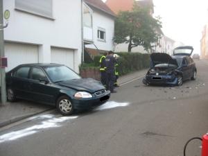 6. September 2014 - Verkehrsunfall, Schallodenbach Mehlbacher Straße