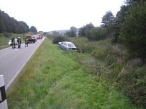 29. September 2014 - Verkehrsunfall, L388 Katzweiler - Mehlbach