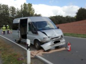 27. September 2014 - Verkehrsunfall, B270 Katzweiler - Hirschhorn