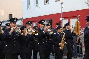 11. Bundeswertungsspielen des Deutschen Feuerwehrverbandes: Marschwertung Stadt- und Feuerwehrkapelle Wissen (Foto: S. Darmstädter/DFV)