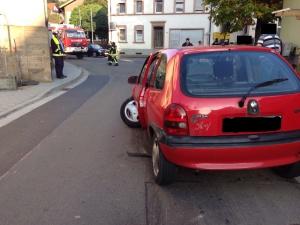 1. Oktober 2014 - Verkehrsunfall, Niederkirchen Morbacher Straße