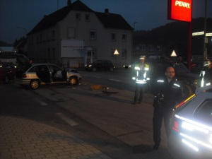 6. Oktober 2014 - Verkehrsunfall, Otterbach Obere Lauterstraße