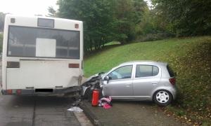 10. Oktober 2014 - Verkehrsunfall, Otterberg Ringstraße