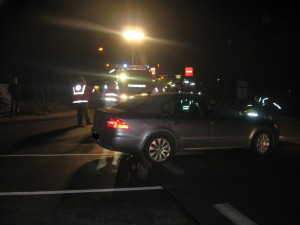 19. Januar 2015 - Verkehrsunfall, Otterberg Hauptstraße / Geißbergring