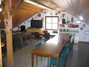Feuerwehrhaus Frankelbach, Schulungs- und Aufenthaltsraum