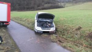 14. Januar 2015 - Verkehrsunfall, B270 Hirschhorn - Sulzbachtal